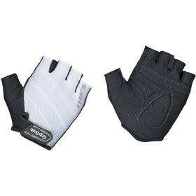 GripGrab Rouleur Gevoerde Halve Vinger Handschoenen, zwart/wit